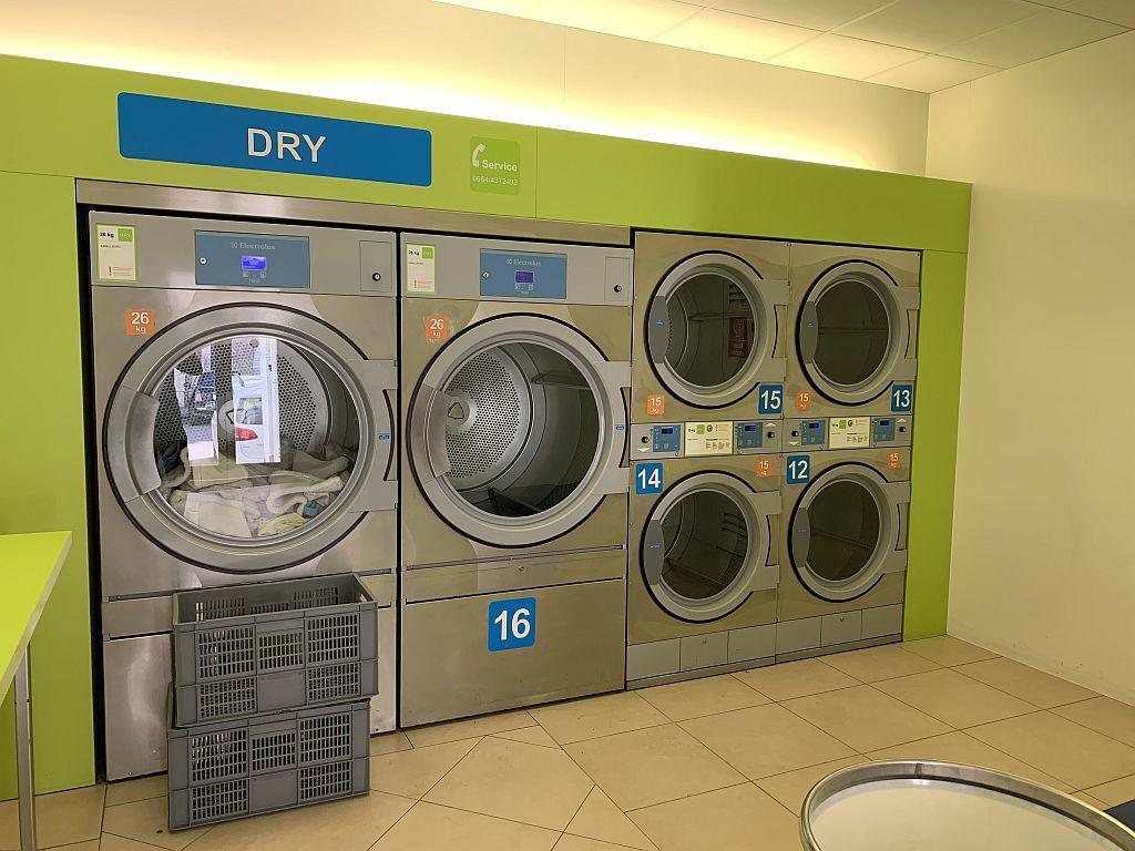 Laundromat Salzburg dryer